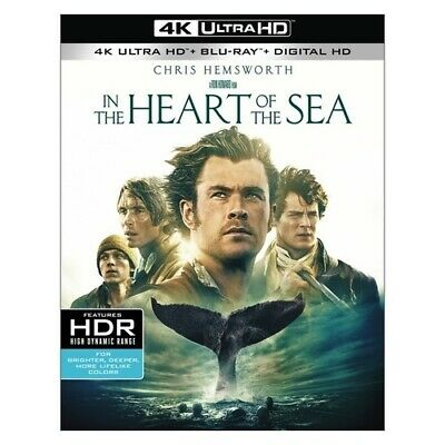 Warner Home Video Br595770 In The Heart Of The Sea (Blu-Ray/4K-Uhd/2 Disc)