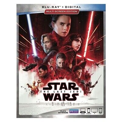 Buena Vista Home Video Br148998 Star Wars-Last Jedi (Blu-Ray/Bonus/Digital)