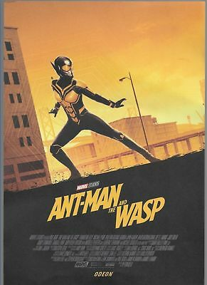 Odeon Premier - Ant-man and the Wasp Marvel Movie Poster
