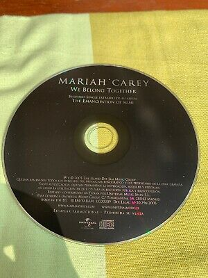Mariah Carey We Belong Together Spain 🇪🇸 Promo Single