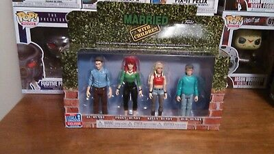 Funko! Married with Children: 4 Pack, Al, Peggy, Kelly, and Bud! Fall Exclusive!