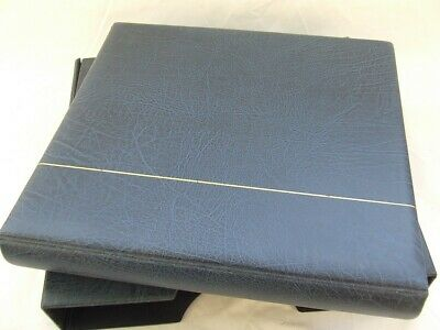 Kabe 16-Ring Blue Luxury Padded Stamp Album & Slipcase (Rb2000), Excellent Cond