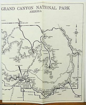 VINTAGE ARIZONA ROAD Map Highways Magazine Grand Canyon ...