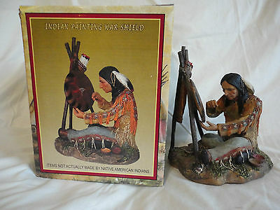AMERICAN INDIAN COLLECTION - Trippies Statue - Sacred Song