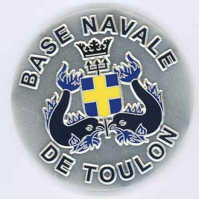 Base Navale de TOULON Médaille de table 65 mm