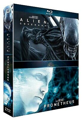 Coffret Alien : Covenant + Prometheus Blu Ray Neuf sous blister