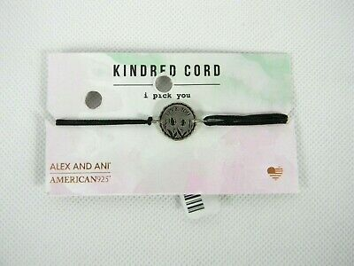 Alex and Ani Kindred Cord I PICK YOU Bracelet Sterling Silver New W//Tag Box Card