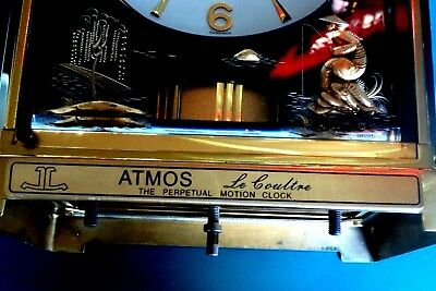 Jaeger Le Coultre Atmos Perpetual Motion Custom Plaque Classic Design Atmos