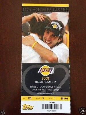 2009 NBA Basketball L.A. Lakers Denver Nuggets Kobe Bryant Western Conf. Finals