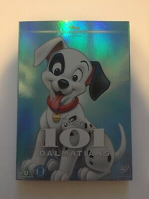 101 Dalmatians DVD with Limited / Special Edition Artwork Sleeve / O-Ring (NEW)