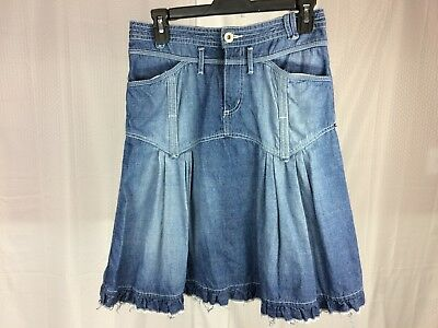 ea3da6d90 MADEWELL SIZE 23 Two Tone Denim Jean Skirt - FREE SHIP! 💙 EUC ...