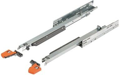 Blum Movento Completo con Tip On, 40kg, Lunghezza=250 - 600 mm con Giunti