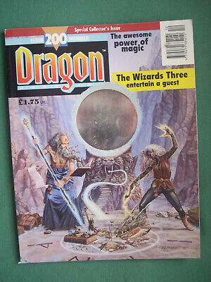 dragon issue 200 special collector´s issue neuwertig!