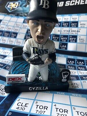 Blake Snell CyZilla Bobble Head Tampa Bay Rays + Pocket Schedule