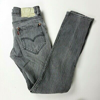 a5c444576d9 RARE Selvedge Levis 511 Jeans Patented 1873 Rivets 34x36 Gray (meas 32x34)