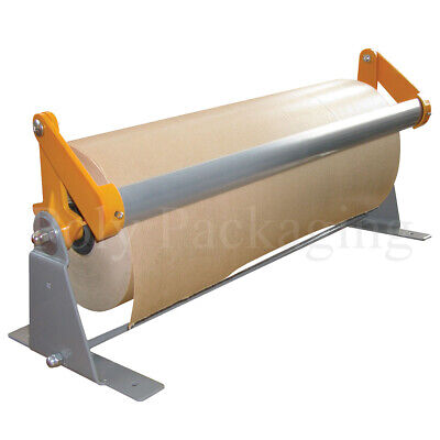 KRAFT PAPER ROLL DISPENSER(900mm Wide)FAST WRAPPING Brown Rolls Posting Parcels