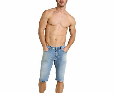 52844c6fa2 DIESEL THASHORT 084CU Mens Denim Jeans Shorts Stretch Summer Casual  Beachwear