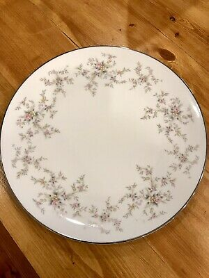 "Noritake China ""Arlene"" 10 Inch Dinner Plate"