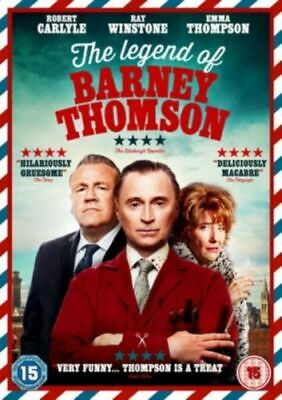 The Legend Of Barney Thomson (Dvd 2015) Robert Carlyle, Ray Winstone...new