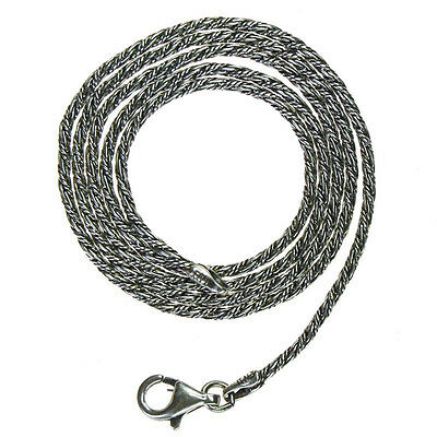 Gerochristo 3053 ~ Sterling Silver Antique Look Chain in various lengths