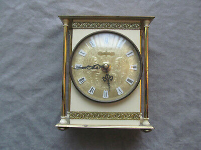 Vintage Caravelle French Movement 3 Jewel Clock