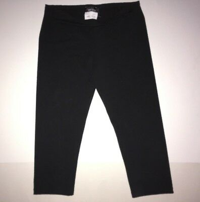 Amy Byer Solid Black Leggings L 12 - 14