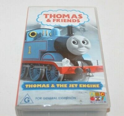 Thomas & Friends Thomas & The Jet Engine The Tank VHS Video 2003 ABC