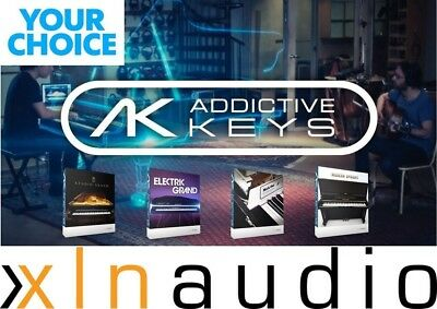 XLN audio Addictive Keys  Mark One, Electric/Studio Grand, Modern Upright VST AU
