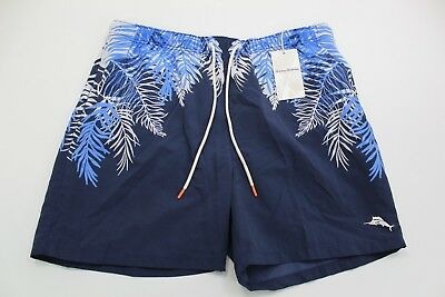 59b777b486 TOMMY BAHAMA SWIM Suit Trunks Santorini Sails Ocean TR916568 30-33 ...