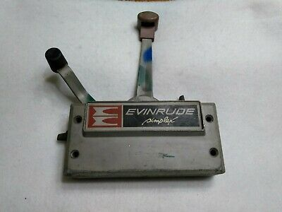 JOHNSON EVINRUDE OUTBOARD Simplex Control Box  No cables