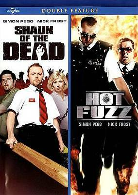 Hot Fuzz/Shaun Of The Dead - Double Feature (DVD, 2013, 2-Disc Set)
