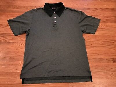 4380c74fb Brooks Brothers Mercerized Cotton Polo Shirt Green Check Size Small Short  Sleeve