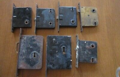 Vintage/Antique Skeleton Key Mortise Door Locks