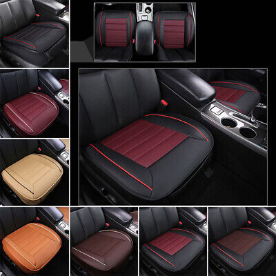 Seat Cushion Mat Covers protector Breathable Car Driver Padded Pocket 1PC NEW