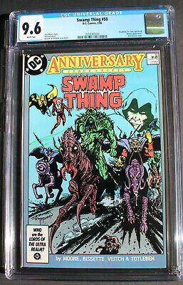 SWAMP THING 50 Moore DEATH Sargon 2nd JUSTICE LEAGUE DARK 1986 Movie CGC NM+ 9.6