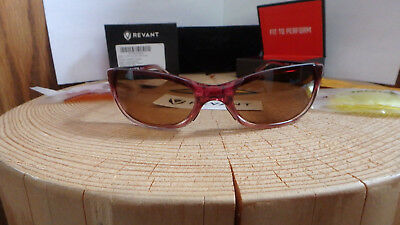 0f1cf4c37eb33 Smith Optics Sunglasses Toaster Crystal Rose with New Revant Dark Brown  Lenses +