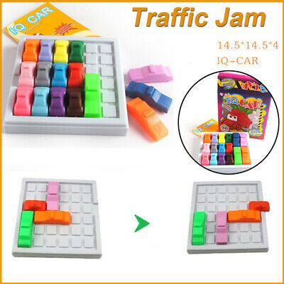 Busy Hour Puzzle Game Amusing Rush Hour Traffic Jam Logic Game Toy For Kids Gift