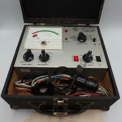 Lectrotech Picture Tube Analyzer Model CRT-100 Vintage