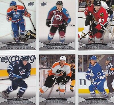 2011/12 UD Series 1 Young Guns Rookie Cards  U-Pick + FREE COMBINED SHIPPING!