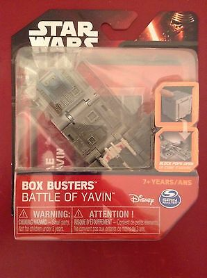 Pick yours Star Wars Single Box Busters NEW Resistance X-Wing Yavin Jakku
