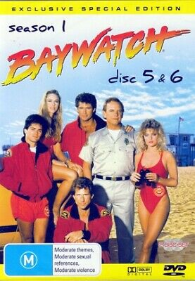 Bay Watch Season 1 Disc 5&6 Exclusive special edition DVD )--free postage