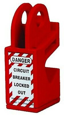 Extreme Safety MEDIUM LOCKOUT DEVICE 55x22x20mm For Circuit Breaker, Red