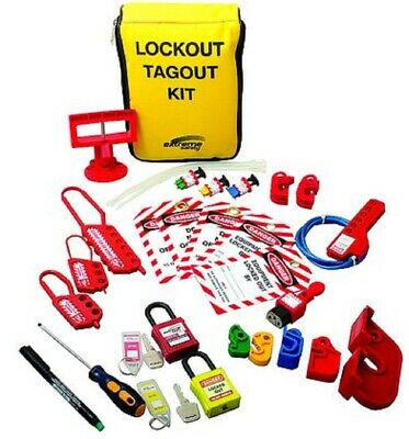 Extreme Safety PREMIER LOCKOUT KIT 25-Tools Pen, Hasps, Screwdriver, Locks