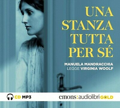 Audiolibro audiobook MP3 UNA STANZA TUTTA PER SE' di Virginia Woolf / USATO