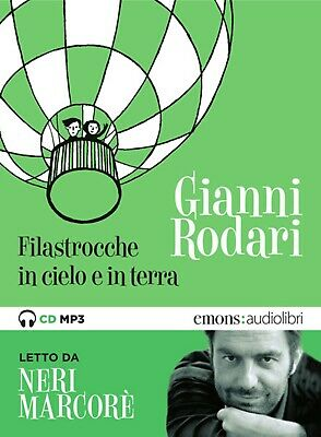 audiolibro audiobook cd MP3 FILASTROCCHE IN CIELO E IN TERRA - GIANNI RODARI