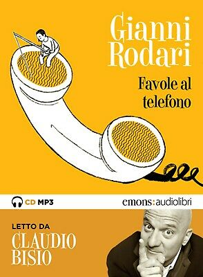 audiolibro audiobook cd MP3 FAVOLE AL TELEFONO - GIANNI RODARI
