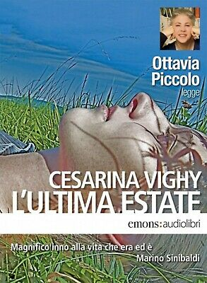 Audiolibro audiobook MP3  L'ULTIMA ESTATE di Cesarina Vighy / usato