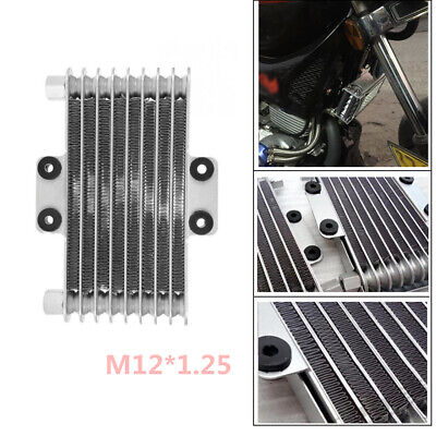 125ml Engine Oil Cooler Cooling Radiator Fit for 125CC-250CC Motorcycle Bike