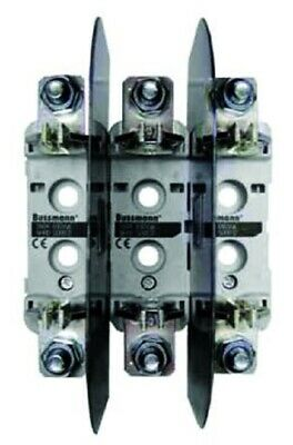 Bussmann DIN RAIL TRIPLE BASE 690V Silver Plated Copper Contacts- Size 2 Or 3