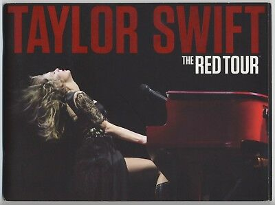 Taylor Swift - The Red Tour US PROGRAM March 2013-June 2014 Bound-in Poster